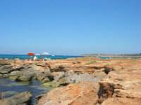 Golfo del Cofano - scogliera, mare stupendo - 30 agosto 2008  - San vito lo capo (449 clic)