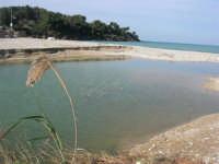 Baia di Guidaloca - fiume - 21 febbraio 2009  - Castellammare del golfo (1675 clic)