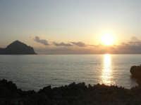 Macari - tramonto sul Golfo del Cofano - 21 settembre 2008   - San vito lo capo (537 clic)
