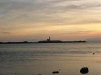 Il faro all'imbrunire - 26 marzo 2006  - Trapani (1386 clic)