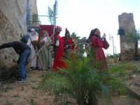 Epifania drammatizzata con quadri viventi a Salemi - interpreti durante le prove - 6 gennaio 2009   - Salemi (2448 clic)