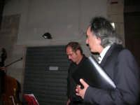 Piazzetta Vespri - Concerto Quartetto Maestri Caravaglios - Musica classica d'autore e films - Presenta il Prof. Giuseppe Camporeale. Prof. Massimiliano Ramo, violino (cell. 347-4872723 - tel. 0923-941391) - Prof. Antonello Camporeale, contrabbasso - Prof. Michele Lentini, clarinetto - flauto traverso - Prof. Arcangelo Gruppuso, pianoforte (concerti e matrimoni) - 17 agosto 2008  - Alcamo (938 clic)