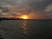 Lungomare Dante Alighieri - tramonto - 13 marzo 2009   - Trapani (2186 clic)