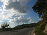 panorama lungo la strada che sale a Caltabellotta - 9 novembre 2008  - Caltabellotta (1379 clic)