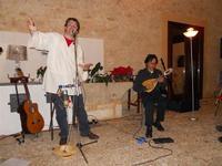 Concerto NAPOLINCANTO - Gianni Aversano (voce e chitarra), Ferdinando Piscopo (mandolino) - 10 dicembre 2009   - Alcamo (1562 clic)
