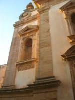 Chiesa dell'ex Collegio dei Gesuiti - particolare - 11 ottobre 2007   - Salemi (2156 clic)