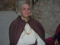 Festeggiamenti Maria SS. dei Miracoli - All'interno del Castello, aspettando che abbia inizio Il Corteo dei Conti di Modica - 20 giugno 2008  - Alcamo (622 clic)