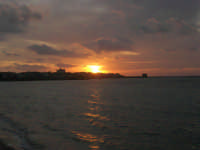 Lungomare Dante Alighieri - tramonto - 13 marzo 2009   - Trapani (1948 clic)