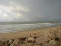 Zona Tonnara - il mare d'inverno - 8 febbraio 2009  - Alcamo marina (2393 clic)
