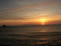 Egadi al tramonto - 26 marzo 2006  - Trapani (1295 clic)