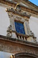 Chiesa dell'ex Collegio dei Gesuiti con facciata barocca - particolare - 11 ottobre 2007  - Salemi (2540 clic)