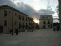 piazza Alicia al tramonto - 6 gennaio 2009   - Salemi (2649 clic)