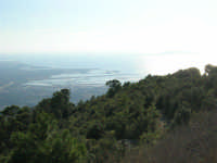 panorama dal monte Erice: Trapani e le saline - 28 settembre 2008   - Erice (866 clic)