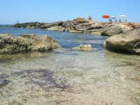 Golfo del Cofano - scogliera, mare stupendo - 30 agosto 2008  - San vito lo capo (451 clic)