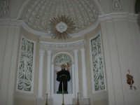 interno Chiesa Madre, dedicata a S. Nicolò di Bari - 23 aprile 2006   - Chiusa sclafani (1489 clic)