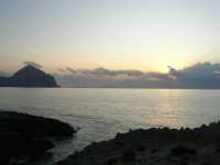 Macari - Tramonto sul Golfo del Cofano - 21 settembre 2008   - San vito lo capo (450 clic)