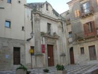 Largo IV Novembre - Chiesa dell'Oratorio o di S. Bartolomeo (Museo del Pane) - 11 ottobre 2007   - Salemi (2652 clic)