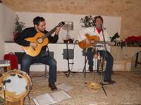 Concerto NAPOLINCANTO - Domenico De Luca (chitarra solista e percussione), Gianni Aversano (voce e chitarra) - 10 dicembre 2009   - Alcamo (1465 clic)