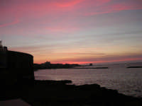 Lungomare Dante Alighieri al tramonto - 26 marzo 2006  - Trapani (2349 clic)
