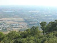 panorama dal monte Erice: guardando a sud - 28 settembre 2008    - Erice (903 clic)