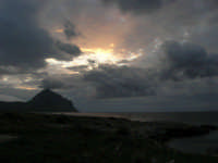 Golfo del Cofano al tramonto - 18 gennaio 2009   - San vito lo capo (2099 clic)