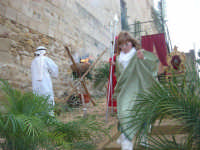 Epifania drammatizzata con quadri viventi a Salemi - interpreti durante le prove - 6 gennaio 2009   - Salemi (2196 clic)