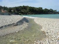 Baia di Guidaloca - la foce del fiume - 21 febbraio 2009  - Castellammare del golfo (1791 clic)