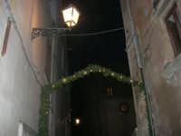 Cene di San Giuseppe - addobbo in strada - 15 marzo 2009   - Salemi (2307 clic)