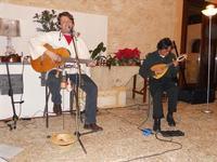 Concerto NAPOLINCANTO - Gianni Aversano (voce e chitarra), Ferdinando Piscopo (mandolino) - 10 dicembre 2009   - Alcamo (1589 clic)
