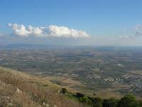panorama dal monte Erice: guardando a sud-est - 28 settembre 2008    - Erice (796 clic)