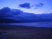 c/da Canalotto - a sera - 8 ottobre 2007  - Alcamo marina (781 clic)