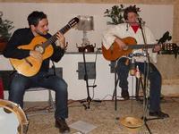 Concerto NAPOLINCANTO - Domenico De Luca (chitarra solista e percussione), Gianni Aversano (voce e chitarra) - 10 dicembre 2009   - Alcamo (2254 clic)