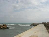 sul molo - 1 marzo 2009  - Marinella di selinunte (1724 clic)