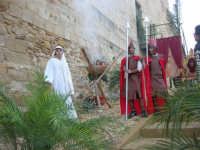 Epifania drammatizzata con quadri viventi a Salemi - interpreti durante le prove - 6 gennaio 2009   - Salemi (2437 clic)