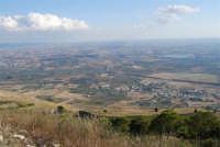 panorama dal monte Erice: guardando a sud - 28 settembre 2008   - Erice (888 clic)