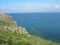 Golfo di Castellammare - la costa tra Guidaloca e Castellammare del Golfo - 5 aprile 2009  - Castellammare del golfo (1208 clic)