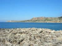 Golfo del Cofano: la scogliera e lo stupendo mare - 24 febbraio 2008   - San vito lo capo (556 clic)