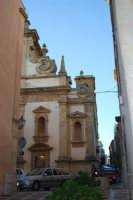 Chiesa dell'ex Collegio dei Gesuiti - particolare - 11 ottobre 2007  - Salemi (2344 clic)