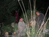 Parco Urbano della Misericordia - LA BIBBIA NEL PARCO - Quadri viventi: 4. Il Servo sofferente - 5 gennaio 2009   - Valderice (2813 clic)
