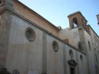 facciata laterale e campanile della Chiesa dell'ex Collegio dei Gesuiti - 11 ottobre 2007   - Salemi (2566 clic)