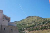 il Castello e la montagna - 2 ottobre 2007  - Castellammare del golfo (646 clic)