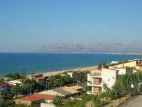 zona Plaja - panorama del golfo di Castellammare, lato est - 6 agosto 2008  - Alcamo marina (946 clic)