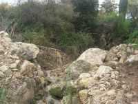 Cala Mazzo di Sciacca - torrente - 29 novembre 2009  - Castellammare del golfo (1386 clic)