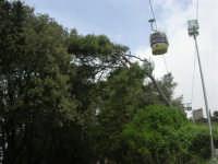 sul monte Erice - la funivia - 1 maggio 2009  - Erice (2096 clic)