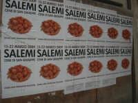 Cene di San Giuseppe - locandine - 15 marzo 2009   - Salemi (2592 clic)
