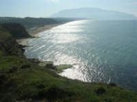 dal belvedere: vista sul golfo di Castellammare, lato ovest - 15 marzo 2009   - Balestrate (4049 clic)