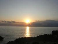 Macari - Tramonto sul Golfo del Cofano - 21 settembre 2008   - San vito lo capo (536 clic)