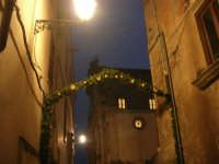 Cene di San Giuseppe - addobbo in strada - 15 marzo 2009   - Salemi (2213 clic)