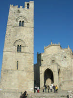 Duomo (sec. XIV) e Torre Campanaria (sec. XIII)- 28 settembre 2008   - Erice (755 clic)