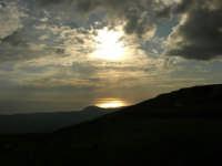 panorama fino al mare, quasi al tramonto - 9 novembre 2008   - Caltabellotta (1762 clic)